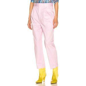 Isabel Marant Grayson Hook Bar Pleated Pocket Pant